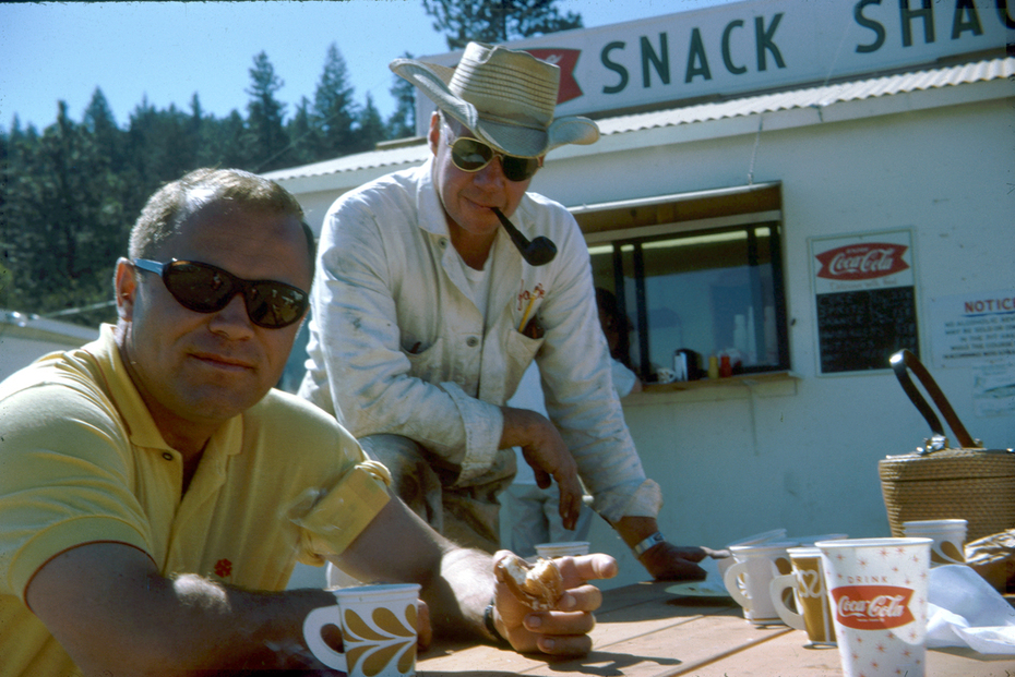 Bill Muncey and Jack Ramsey at  Lake Tahoe 1964