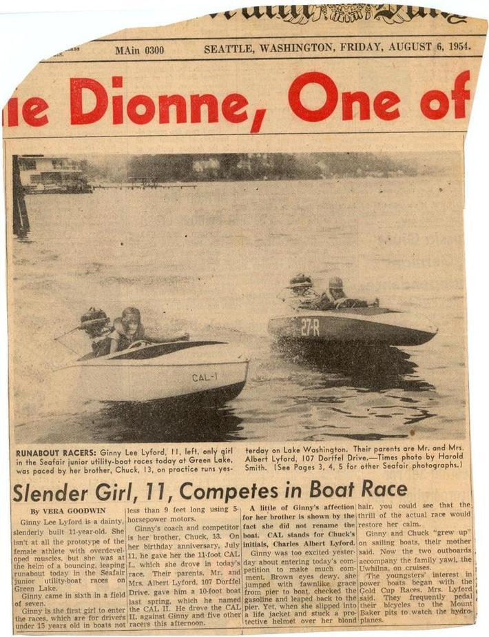 Seattle Times Aug. 4,1954