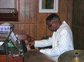 Timmy on the organ