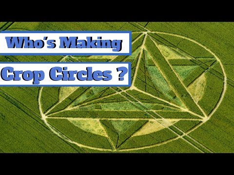 Who's making Crop Circles