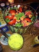 Gorgeous green salad