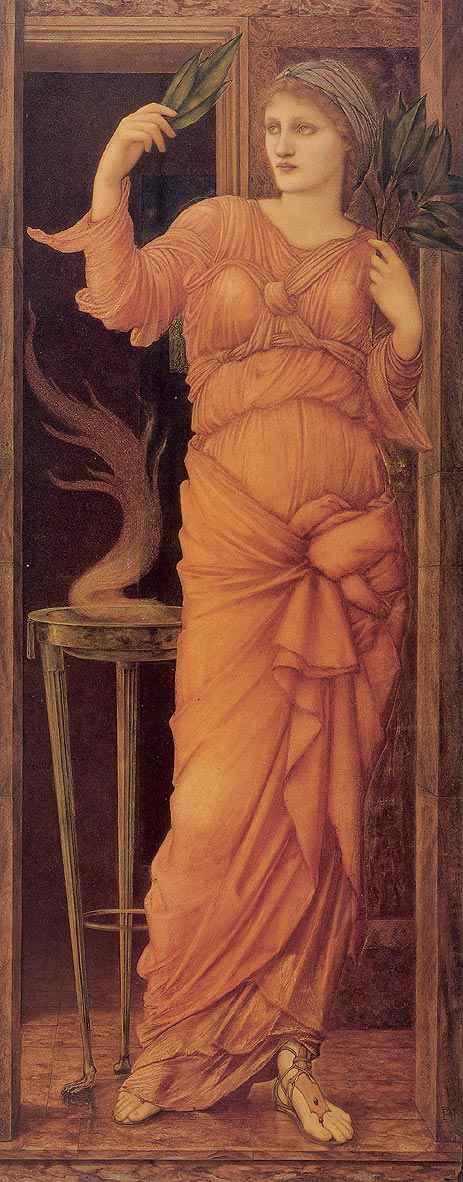 Sibylla Delphica, 1868