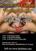"Zondag 9 februari: Sensacion Cubana ""Valentine Edition"""