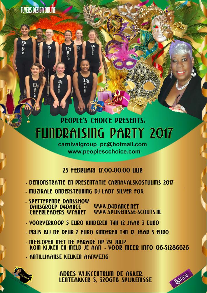 Fundraising party 2017 van Carnavalsgroep Peoples Choice