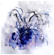 orchid series-Acrylic on paper