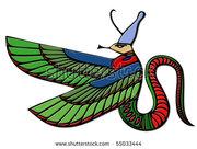 stock-photo-dragon-egyptian-demon-55033444
