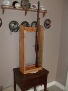 Three Place Rifle Rack