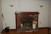Original Fireplace Mantel