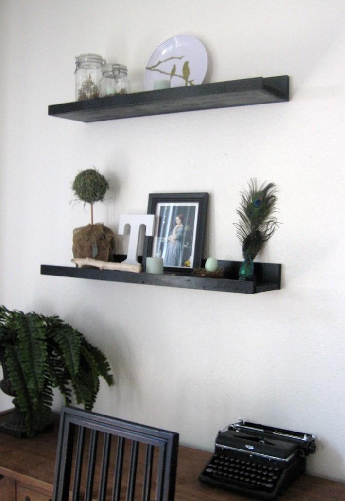 Floating Display Shelves
