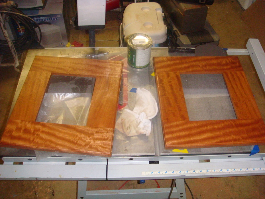 dad and me sapele twin frames