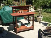 Potting bench from Kreg pattern