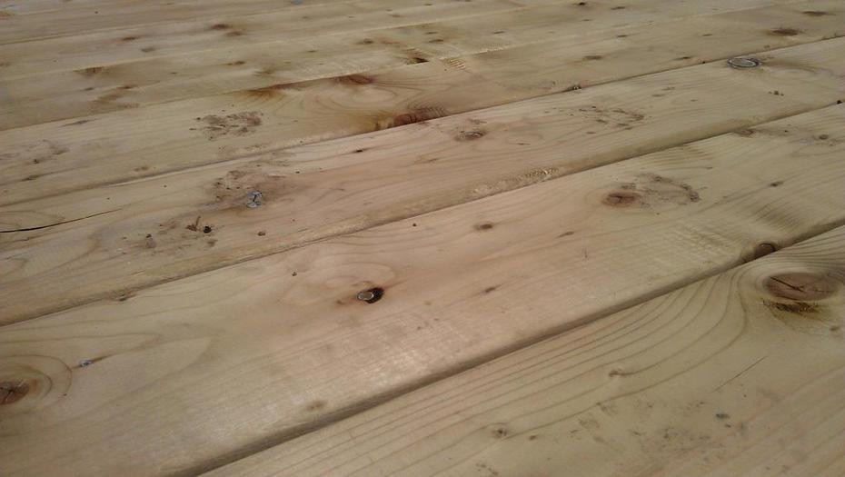 Deck surface - no screws!