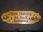 gone hunting...