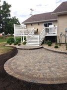 Finished Deck & Patio