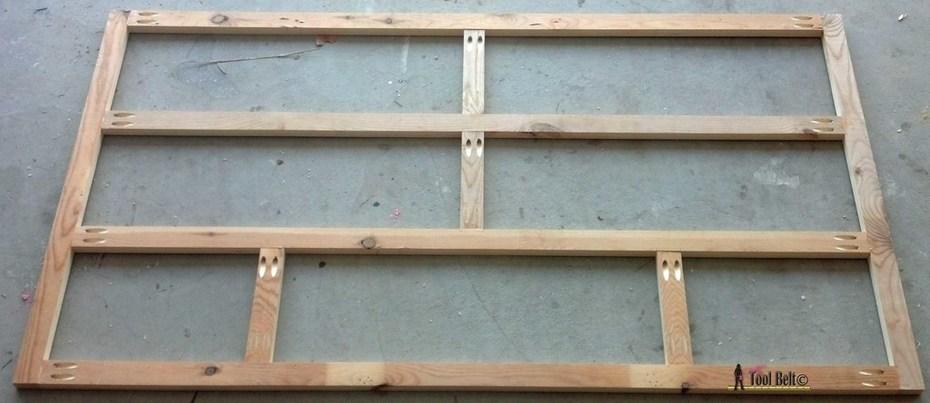 7 drawer dresser-face frame back