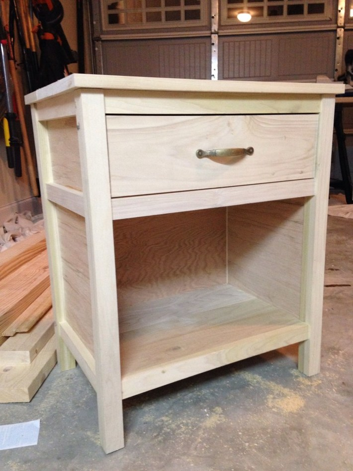 Cooper Night Stand Unfinished