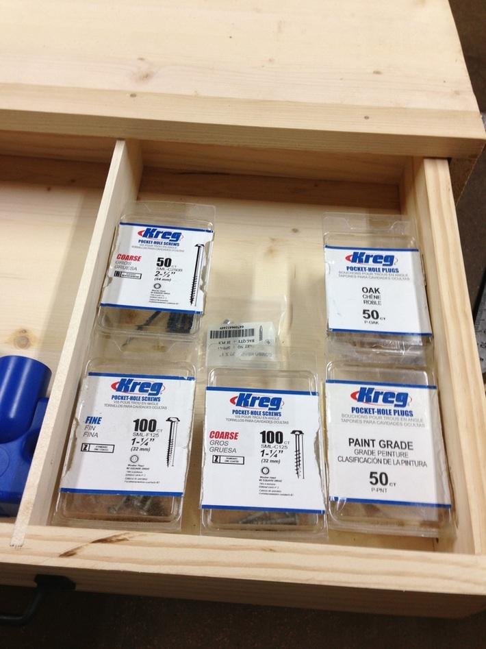 Kreg jig Workstation with storage