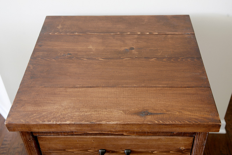 Chest of Drawers from old work bench