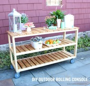 outdoor rolling console