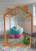 2x2 kids playhouse structure