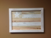 American Flag - Reclaimed Wood