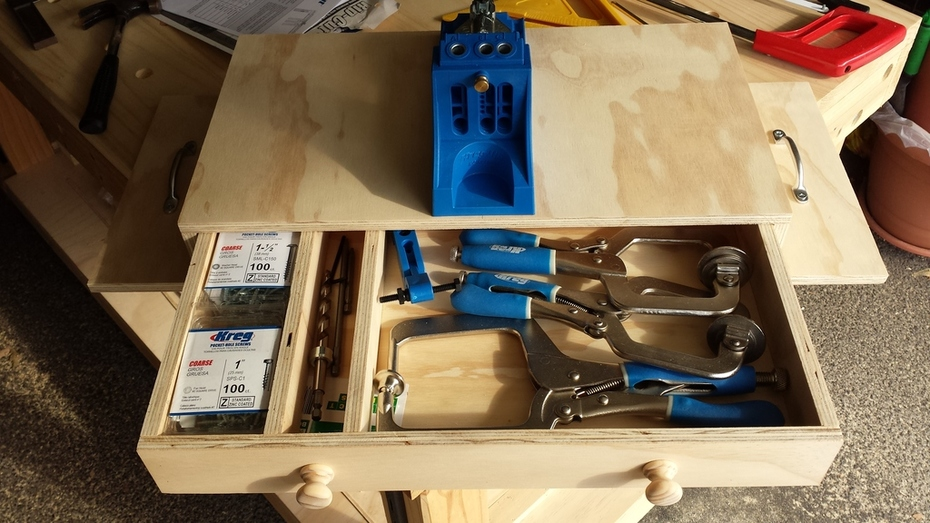 Kreg Jig 4 work station