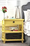 DIY Clara Lattice bedside table