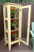 DIY Patio Garden Cabinet