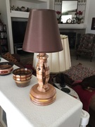 """involuted lamp"""