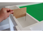 Lego Table with removable dividers