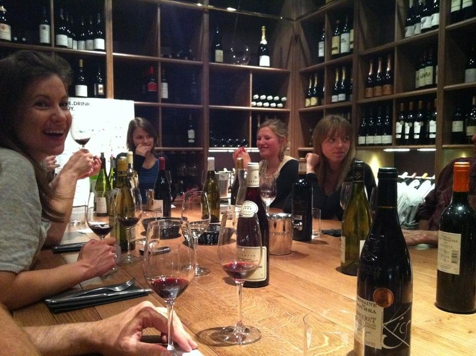 Met onze club wijnproeven