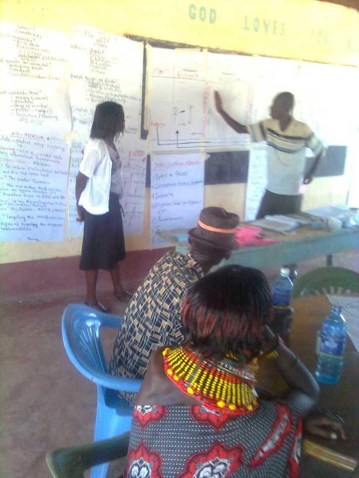Peace training for reforming warriors-Kenya