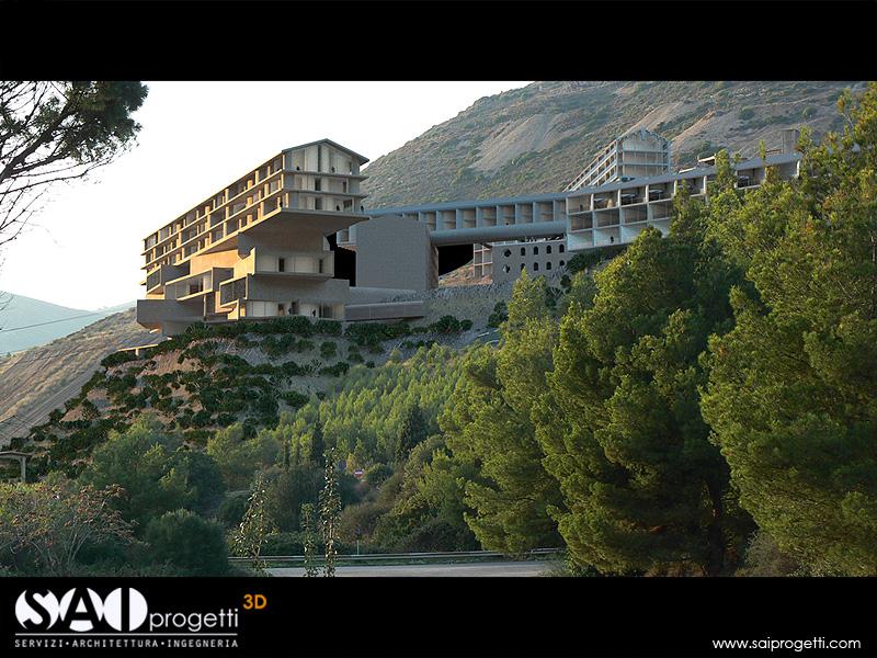 Monteponi (Iglesias) - designed by Herzog and de Meuron
