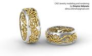 CAD Jewelry by Dmytro Velenets