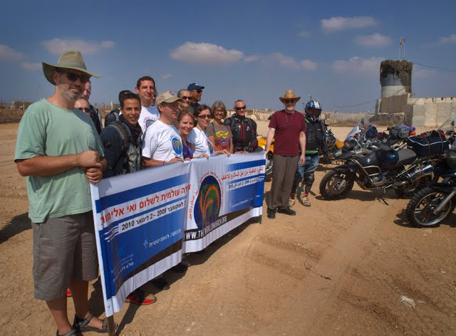 A Marcha da Paz em Holit