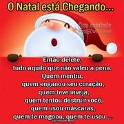 Que Seu Natal seja de muita paz, saúde, amor e alegria...