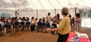 Hilary at StoryMoja, Kenya