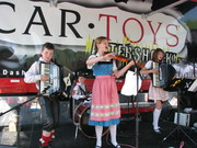 Third Generation entertains on the Car Toy Stage at the the Tomball German Heritage Days Fesival