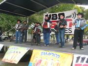 Artistas de Acordeon performs for ESPN Soccer Tournament