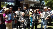 Shelia & Meg were at the Cotati Accordion Festival in California