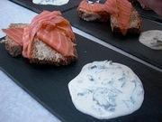 Salmon, Sodabread and Sorrel