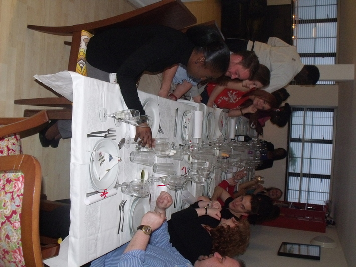 Tuscan Sharing Supper Club: guests