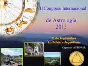 VII CONGRESO DE ASTROLOGIA 2013