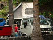 Hawaiian Bus Camping