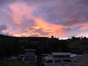 Sunset at Maupin
