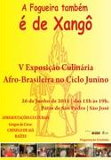 Exposição Culinária Afro Brasileiro no Ciclo Junino - Recife PE