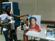 Friends showing support for King Cameran