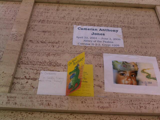 Paying respects and celebrating Cameran