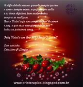 cartão natal cristerapias