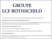 only 3 countries left with not rothschild central bank